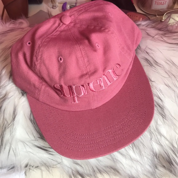 5e0bccc8 Supreme Accessories | Mens Dusty Pink Hat Nwt | Poshmark